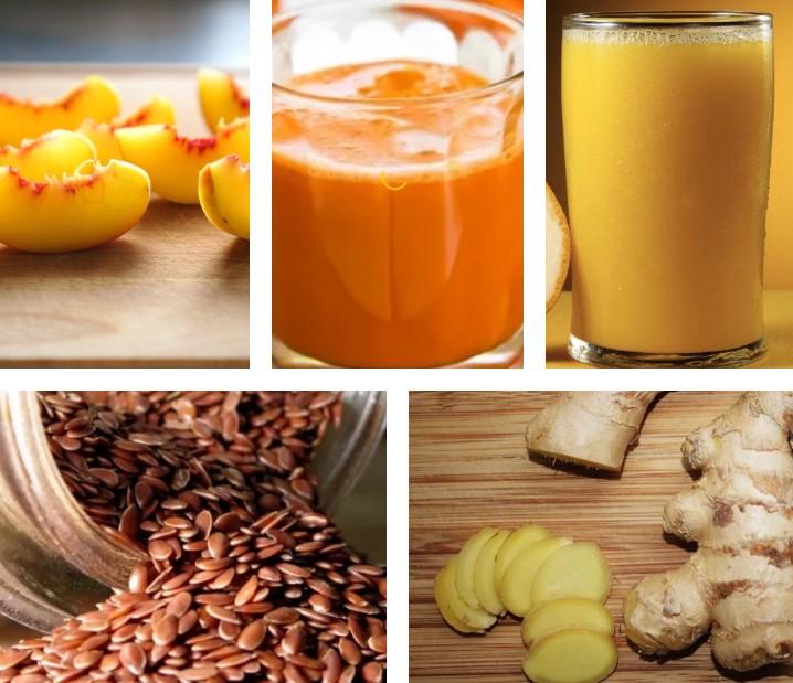 Ингредиенты к смузи