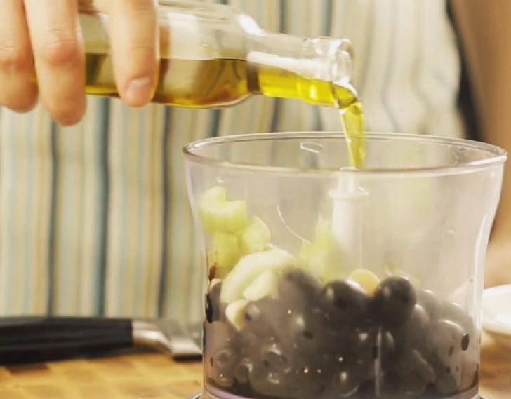 Ингредиенты в блендере