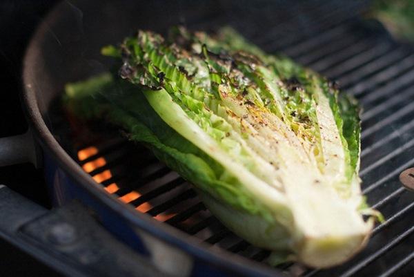 запечь салат ромэн