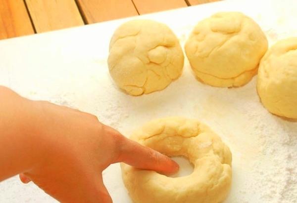 сформировать булочку