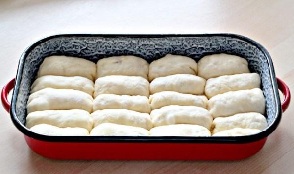 заготовки пирожков в форме