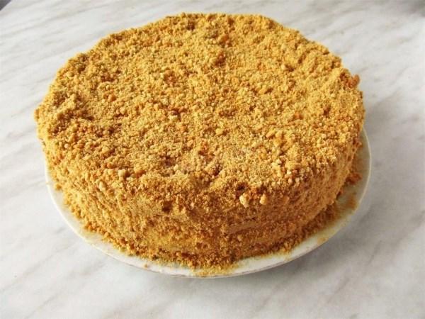 готовый торт рыжик