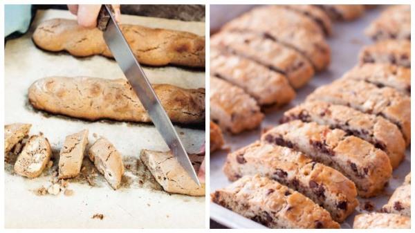 нарезать и запечь печенье