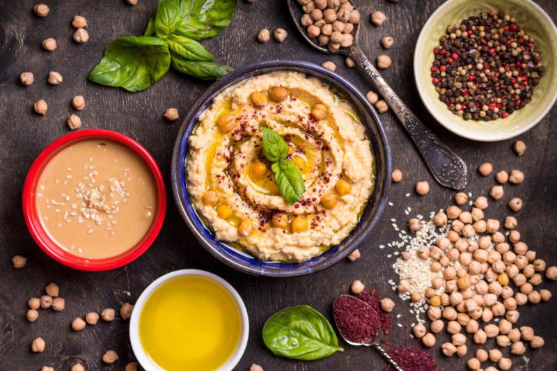 Традиционный хумус