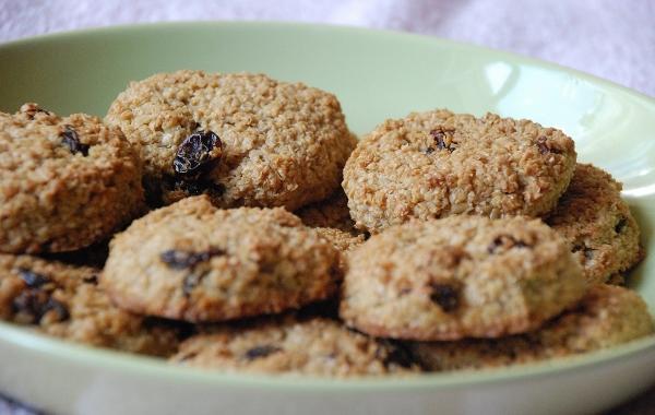 готовое печенье из овсяных отрубей
