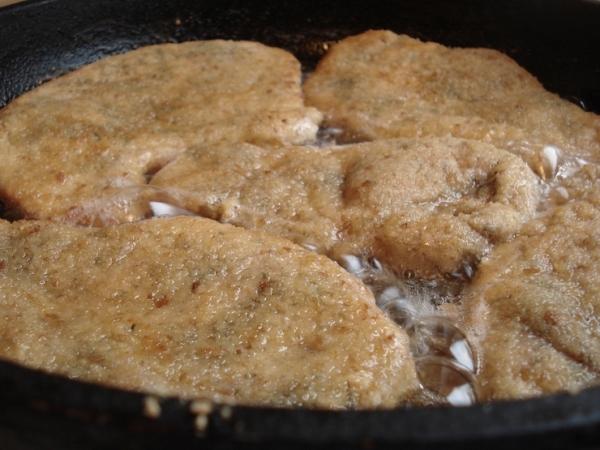 обжарить свинину на сковороде
