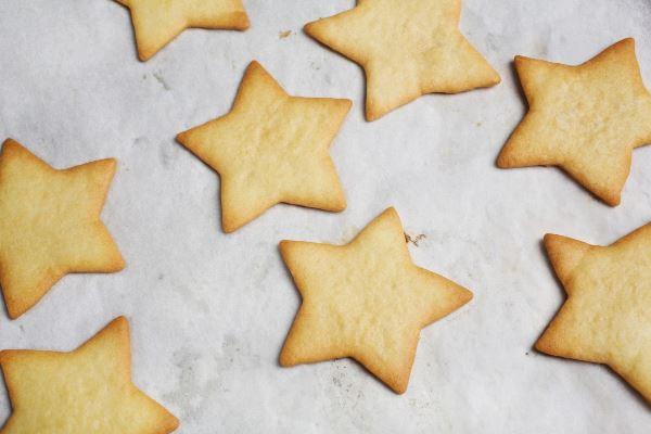 готовое песочное печенье