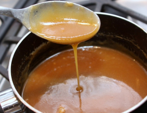 готовый карамельный соус