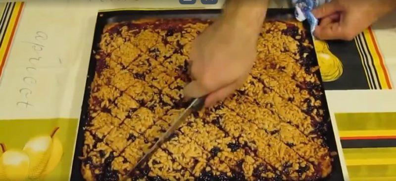 Разрезать на печенье