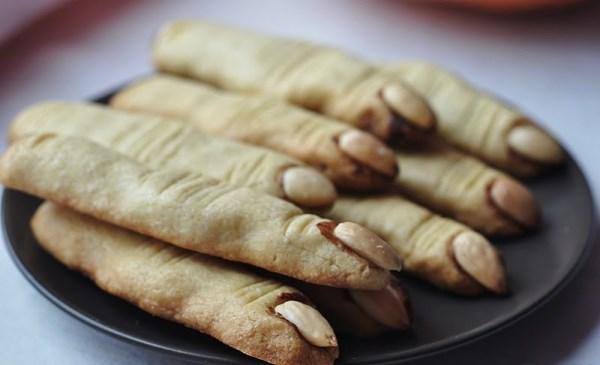 готовое печенье пальцы ведьмы