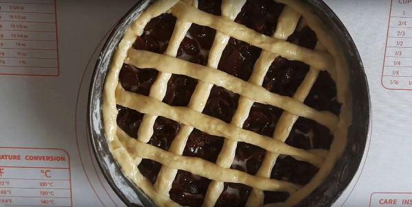 сформировать пирог