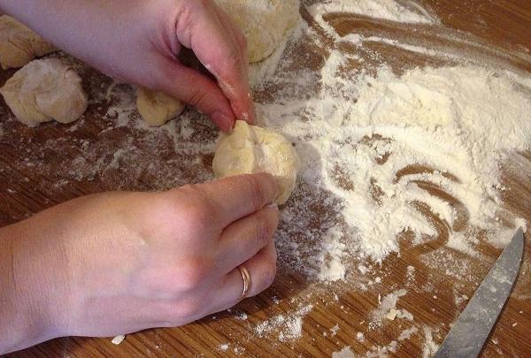 сформировать пирожки
