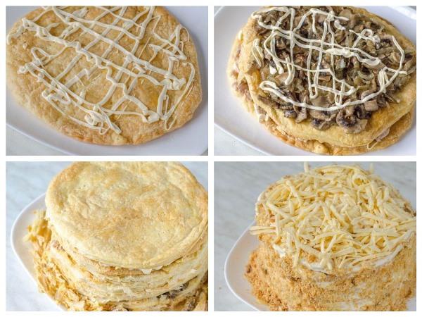 формировка пирога