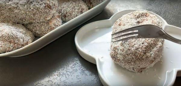 готовое пирожное картошка