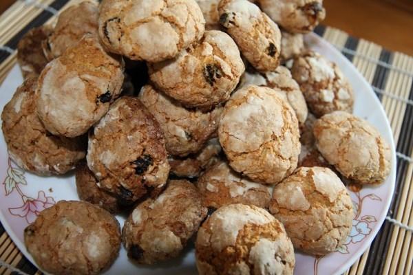готовое веганское печенье