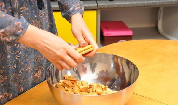 поломать печенье