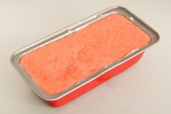 смесь суфле вылить в форму