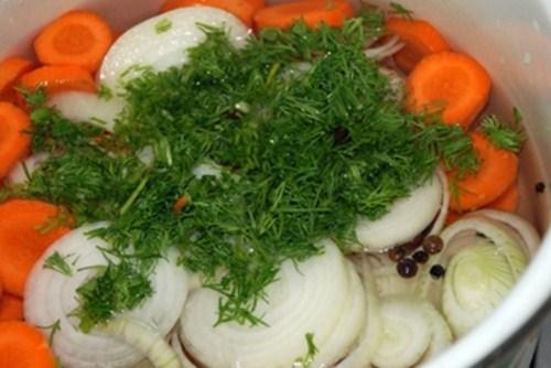 Скумбрия маринованная - рецепт с фото