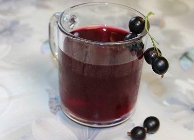 Вкусный компот из ягод смородины на зиму