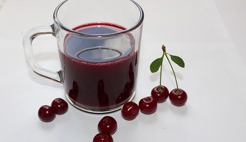 Вишнёвый сок на зиму в домашних условиях